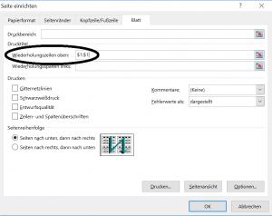 Praxistipp Excel - Wiederholungszeilen
