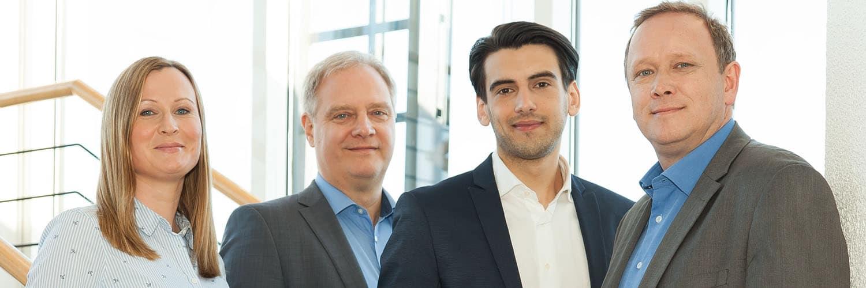 Das Team der hansesoft GmbH.